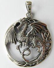 Plata esterlina 925 Colgante de Dragón!!!! nuevo!!!