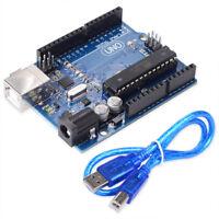 UNO R3 MEGA328P ATmega328P ATMEGA16U2 Board  For Arduino Compatible + USB Cable