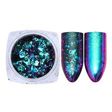 Chameleon Sequins Irregular Glitter Nail Decoration Paillette Powder Born Pretty