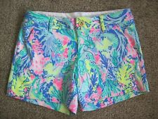 LILLY PULITZER THE CALLAHAN STRETCH SHORTS-WOMENS SIZE 2-VERY NICE!!