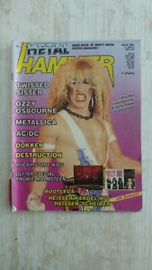 Metal Hammer Nr.1 1986 Twisted Sister, Kiss