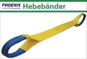 Hebeband 1000-10000 kg / 1-10 m, Rundschlinge Bergegurt Hebebänder Schlaufenband