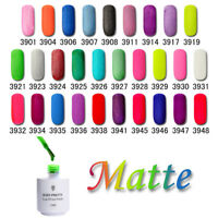 BORN PRETTY 5ml Matte UV Gel Polish Nail Art Soak Off UV Lamp Varnish