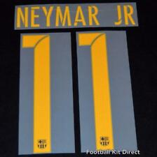Official Barcelona Neymar 11 2016-17 Football Shirt Name/Number Set Adult H