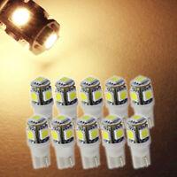 Set Of 10x T5 T10 Wedge Bulb White LED For Malibu 12V AC/DC Landscape Light Lamp