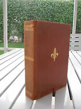 A HOOSIER CHRONICLE BY MEREDITH NICHOLSON 1912 SIGNED LEATHER