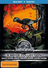The Jurassic Park / Jurassic Park - Lost World / Jurassic Park III / Jurassic World / Jurassic World - Fallen Kingdom (Blu-ray, 2018, 5-Disc Set)