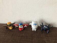 Super Wings Flieger - Figuren Spielzeug Flugzeuge 4 Stk. Jett,Mira,Jerome NEU
