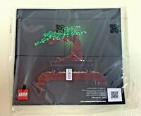Lego 10281 Bonsai Tree Instruction manual ONLY WORLDWIDE FREE SHIPPING