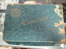 Vintage Dominoes By The Embossing Company
