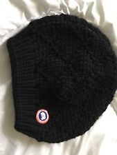 Women's Canada Goose Cable Knit Merino Beanie