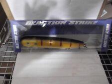 """Reaction Strike 8-1/4"""" Home Wrecker all wood top water muskie killer ( RBP ))"""