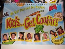 KIDS...GET COOKIN'!, ALL-STAR FAST AND FUN RECIPES, English & Spanish