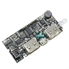 Dual USB 5V 1A 2.1A Mobile Power Bank 18650 Battery Charger PCB Module Board M