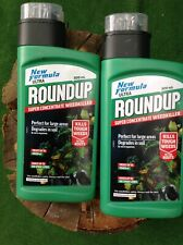 Roundup Ultra 500ml Super Concentrate Weedkiller, Green, 500 ml x2