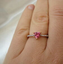 Natural Tanzanian Noble Red Spinel Rose Gold Ring