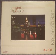 John Mehler KENNETH NASH Jazz Praise 1985 LP Maranatha Records VERY RARE