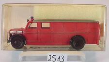 Brekina 1/87 41200 Magirus Deutz LKW Rüstwagen Feuerwehr OVP #2513
