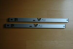 2 Stück - BMI Eurostar Wasserwaage 80 cm - Typ 690