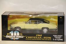 1/18 ERTL 1968 CHEVELLE SS 396 , 1 OF 4998 , NEW , 36512