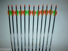 12-- Easton Aftermath 400 Carbon Arrows w/ Blazer Vanes! WILL CUT TO LENGTH!