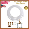 "Refrigerator Ice Maker Water Line Tubing Installation Kit 25 Ft 1/4"""