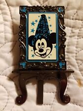 2013 WDW Sorcerer Mickey Disney Poster Collection Pin LE 2000 with Easel no box