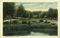 1910's 1920's Lake View Lincoln Park Duluth Minnesota Vintage Postcard