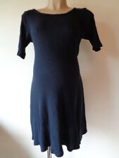 RED HERRING MATERNITY NAVY BLUE RIBBED T-SHIRT DRESS SIZE 12