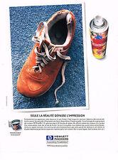 PUBLICITE ADVERTISING   1999   HEWLETT PACKARD    imprimante HP DESKJET