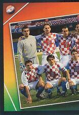 N°156 TEAM EQUIPE SQUADRA 1/2 # CROATIA STICKER VIGNETTE PANINI EURO 2004