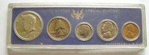 a539 USA 1967 US MINT SET 5 COINS UNC