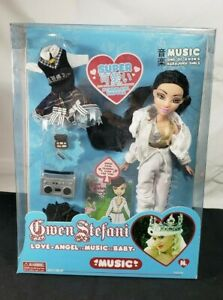 GWEN STEFANI  LOVE, MUSIC, ANGEL SERIES, MUSIC DOLL AGES 6+