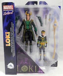MARVEL SELECT LEGENDS LOKI Special Collector Edition Action Figure Set - 2 Pack