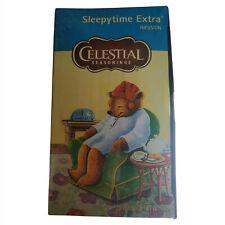 Celestial Tea | Celestial Seasonings Tea | 20 Bags of Celestial Sleepytime Extra