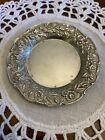 S KIRK   SON STERLING BUTTER DISH PAT S  17F   REPOUSSE   NO MONO