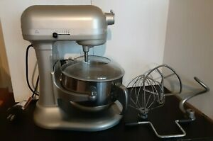 KITCHENAID PROFESSIONAL 600 STAND SILVER MIXER 6 QUART 10 SPEED POWER 575 WATTS