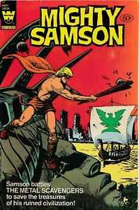 RARE LAST ISSUE MIGHTY SAMSOM #32 1982 WHITMAN BAG SERIES ONLY