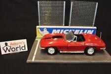 Ertl 1967 Chevrolet Corvette L-71 Convertible 1:18 red (MCNB)