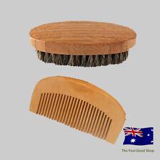 Men's Beard Grooming Comb and Brush