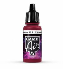 VALLEJO GAME AIR AIRBRUSH PAINT - SCARLETT RED 17ML - 72.712