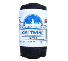 Catahoula No 18 Tarred Twisted Bank Line 4 oz Spool 250 ft Nylon Twine