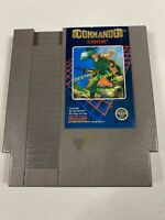 Commando (Nintendo Entertainment System NES) Cleaned Tested Works GREAT 5-Screw