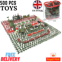 500pcs/Set Military Model Playset Toy Soldier Army Men Action Figures Children