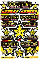 "Rockstar Energy Sticker Motocross Bike Graphic Kits Decal ""BUY 2 GET 1 FREE"" R5"