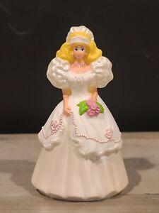 1992 McDonald's Mattel Rose Bride Barbie Doll Happy Meal Toy