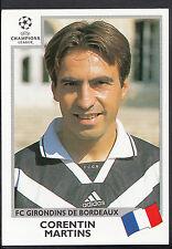 PANINI CALCIO VIGNETTA-UEFA CHAMPIONS LEAGUE 1999-00 - n. 262-BORDEAUX