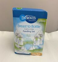 Dr. Brown's Breastfeeding Baby Bottles, Options+ Wide-Neck