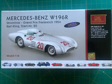 ✅ CMC 128B 1954 Mercedes Benz W196R Streamliner #20 GP France,Karl Kling ✅ LE 1K