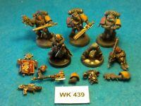 Warhammer 40K - Space Wolves - Blood Claws x5 with Melta Gun - WK439